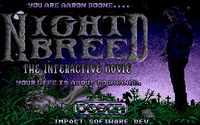 Video Game: Nightbreed: The Interactive Movie