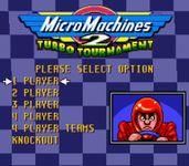 Video Game: Micro Machines 2: Turbo Tournament