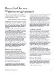 RPG Item: Unearthed Arcana 2015-05-04: Waterborne Adventures