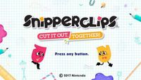 Video Game: Snipperclips - Cut it out, together!