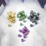 Board Game Accessory: Anachrony: Metal Resource Cubes