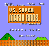Video Game: Vs. Super Mario Bros.