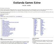 Issue: Outlanda Games Ezine (Issue 1 - Dec 2001)
