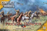 Board Game: Conflict of Heroes: Price of Honour – Poland 1939
