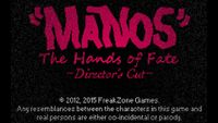 Video Game: MANOS: The Hands of Fate Director's Cut