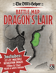 RPG Item: Battle Map: Dragon's Lair