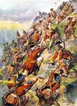 Scaling the Heights of Abraham, Battle of Quebec (by Harry Payne)