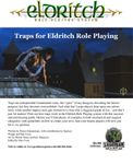 RPG Item: Traps for Eldritch Role Playing