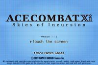 Video Game: Ace Combat Xi: Skies of Incursion