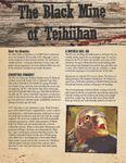 RPG Item: The Black Mine of Teihiihan