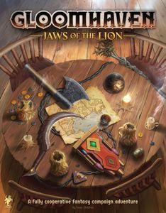 Gloomhaven: Jaws of the Lion Cover Artwork
