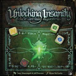 Unlocking Insanity: Dice Vermiis Mysteriis Cover Artwork