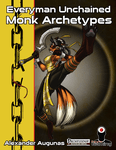 RPG Item: Everyman Unchained: Monk Archetypes
