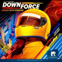 Downforce: Danger Circuit Cover Artwork