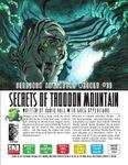 RPG Item: #11: Secrets of Trodoon Mountain