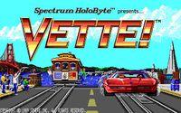 Video Game: Vette!