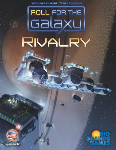 Board Game: Roll for the Galaxy: Rivalry
