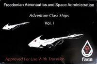 RPG Item: Adventure Class Ships Volume 1 (Sleeved Set)