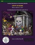 RPG Item: Lord of the Bone Fields #2: Crypt of Bones (C&C)