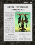 RPG Item: Khitus - The World of Dragon Kings