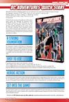 RPG Item: DC Adventures Quick Start