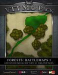 RPG Item: VTT Map Pack: Forests: Battlemaps 1
