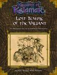 RPG Item: Lost Temple of the Valiant
