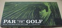 "Board Game: Par ""72"" Golf"