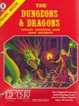 RPG Item: Dungeons & Dragons Basic Rulebook (Second Edition)