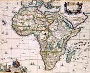 RPG Item: Antique Maps 03: Africa of the 1600's