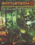 RPG Item: Masters and Minions: The StarCorps Dossiers