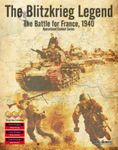Board Game: The Blitzkrieg Legend: The Battle for France, 1940