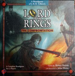 Lord of the Rings: The Confrontation Cover Artwork