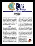 RPG Item: Josephina's (Savage Worlds Version)
