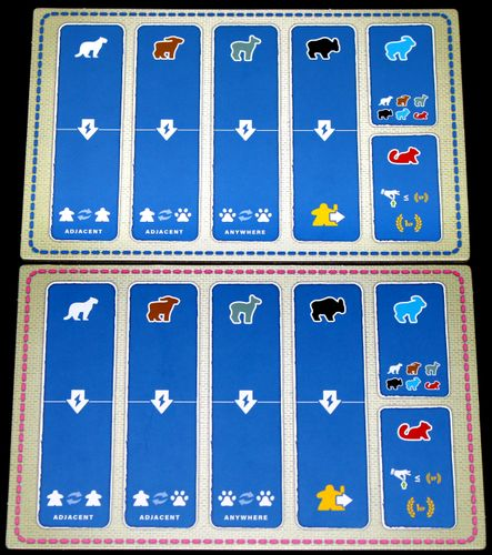 The player boards for Nanga Parbat!