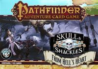 Board Game: Pathfinder Adventure Card Game: Skull & Shackles Adventure Deck 6 – From Hell's Heart
