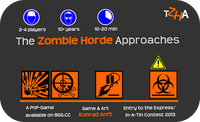 Board Game: The Zombie Horde Approaches!