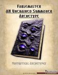 RPG Item: Fantastical Archetypes: Fablemaster