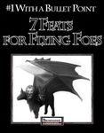RPG Item: Bullet Points: 7 Feats for Flying Foes