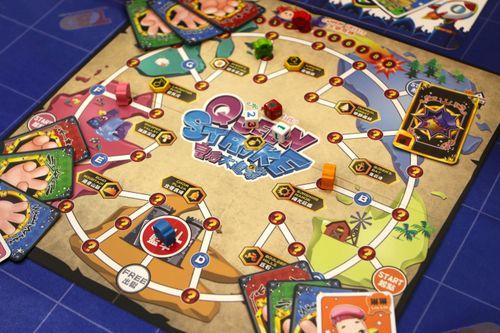 Board Game: Queen Strike