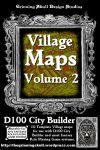 RPG Item: Village Maps Volume 2