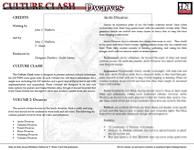 RPG Item: Culture Clash Volume 2: Dwarves