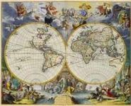 RPG Item: Antique Maps 01: The World of the 1600's