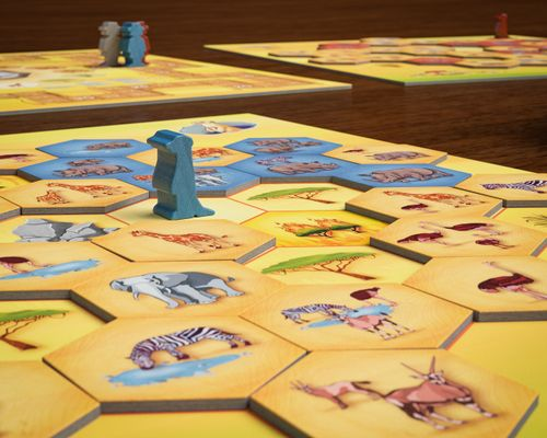 Board Game: Savannah Park
