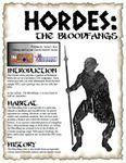 RPG Item: The Bloodfangs