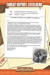 RPG Item: Threat Report #20: Steelhead
