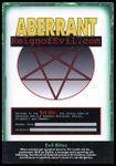 RPG Item: Aberrant: ReignofEvil.com