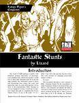 RPG Item: Fantastic Stunts