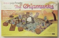 Board Game: Chipmunks Superpopomatic 3-D Action Game