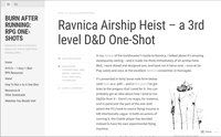 RPG Item: Ravnica Airship Heist
